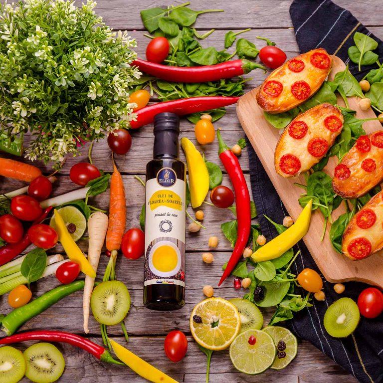 #MaiSănătos: cartofi dulci la cuptor cu cașcaval și roșii