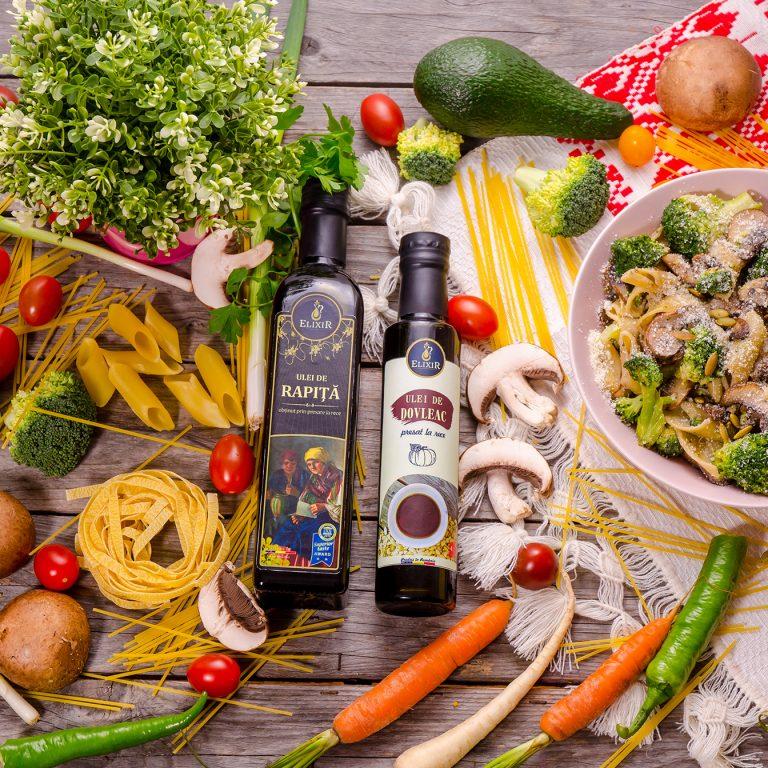#MaiSănătos: paste cu ciuperci și broccoli