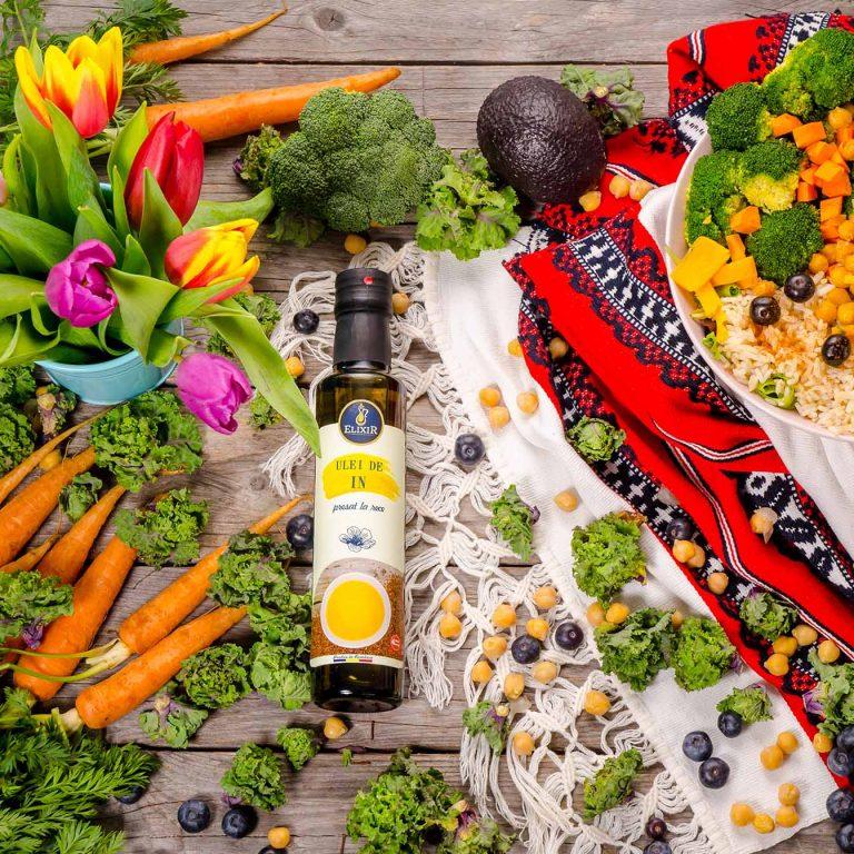 Ideea pentru prânz: salată de primăvară bogată în Omega 3 și Omega 6